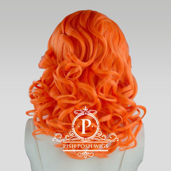 Farrah Tangerine Front Wig Back View
