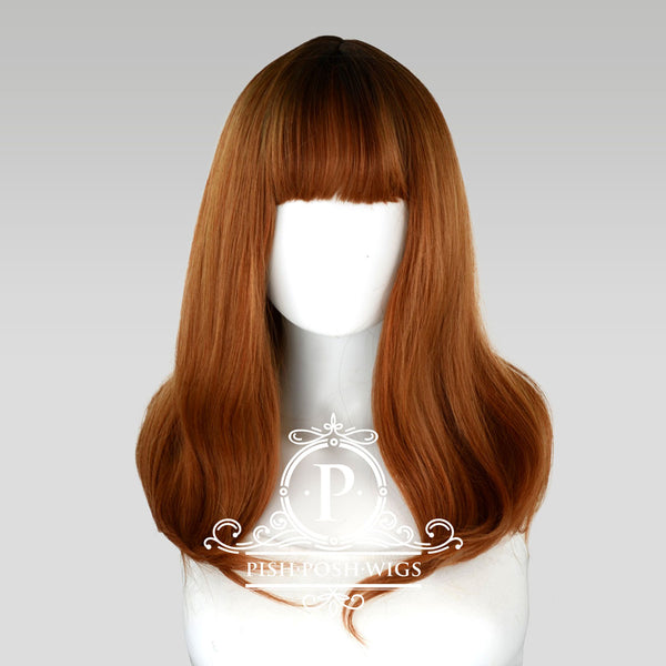 Tu Cocoa Brown Natural Wig Frontal View
