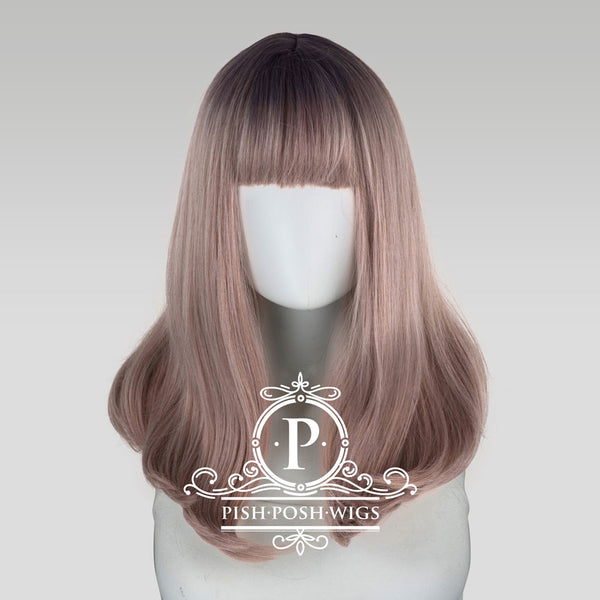 Tu Hazy Grey Ombre Natural Wig Frontal View