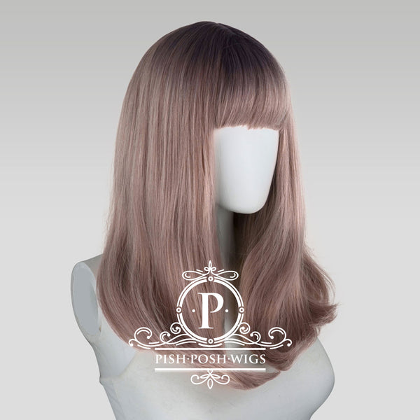 Tu Hazy Grey Ombre Natural Wig Profile View