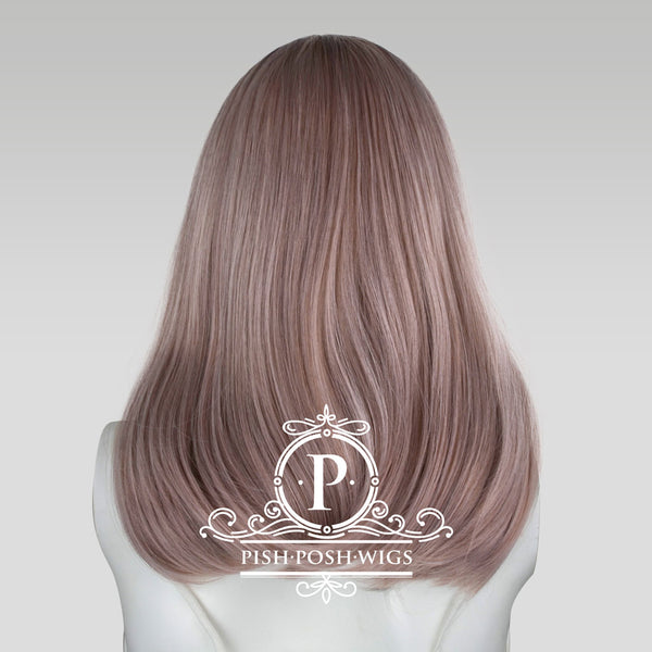 Tu Hazy Grey Ombre Natural Wig Back View