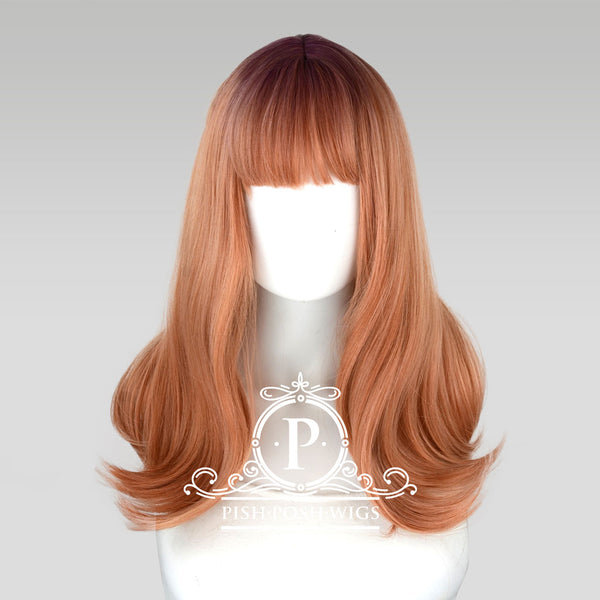 Tu Pink Champagne Ombre Natural Wig Frontal View