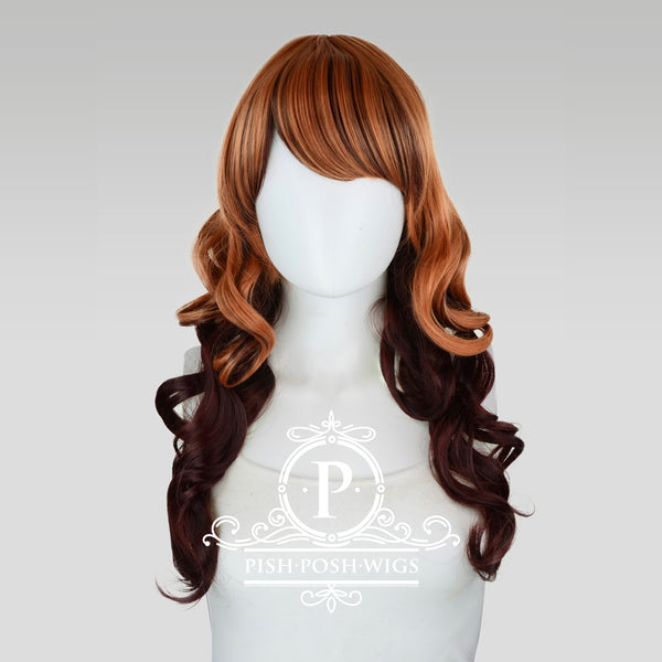 Yona Two Tone Peach Sorbet Fashion Wig Frontal View
