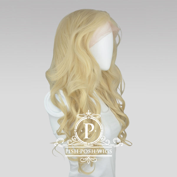Stefeni Natural Blonde Lace Front Wig Side View