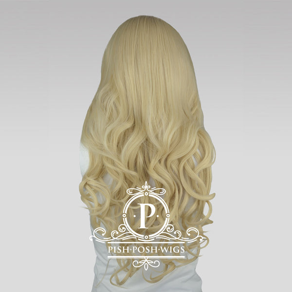 Stefeni Natural Blonde Lace Front Wig Back View