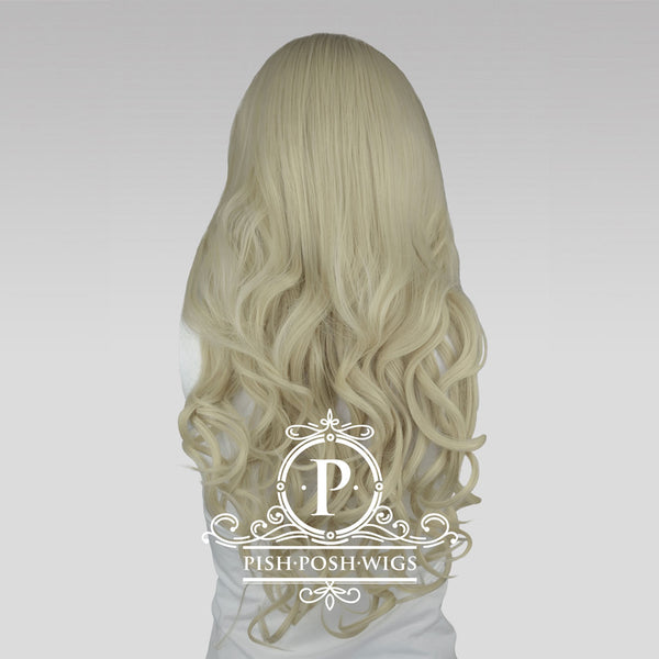 Stefeni Platinum Blonde Lace Front Wig Back View