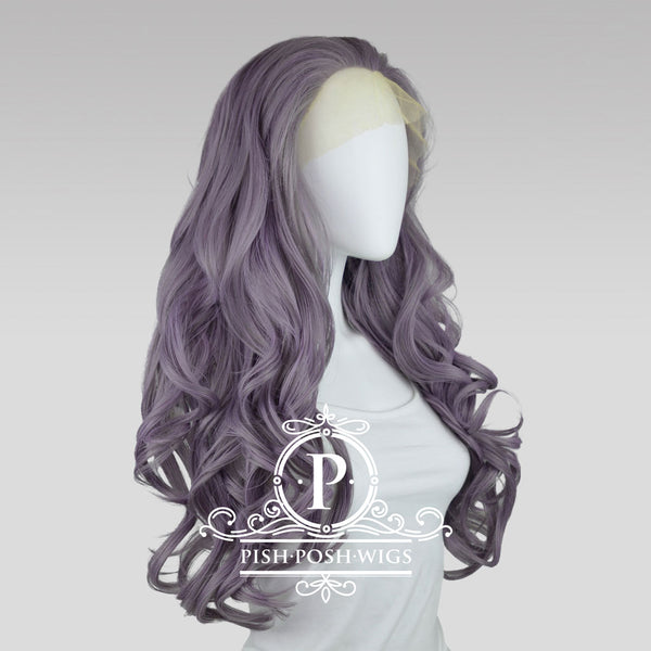 Stefeni Taro Purple Lace Front Wig Profile View