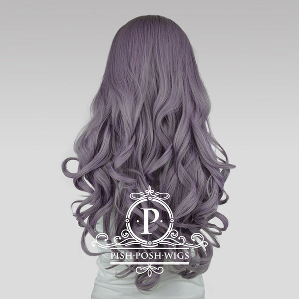 Stefeni Taro Purple Lace Front Wig Back View
