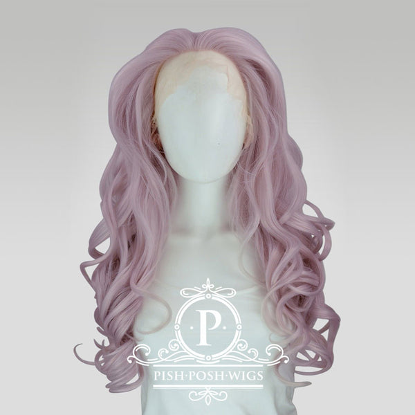 Stefeni Pink Pearl Lace Front Wig Frontal View
