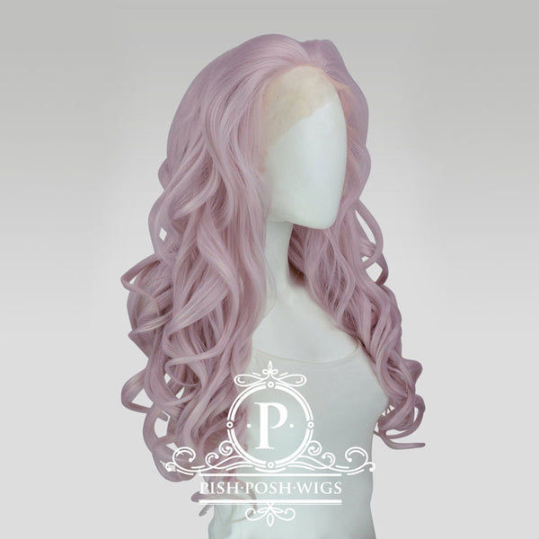 Stefeni Pink Pearl Lace Front Wig Profile View