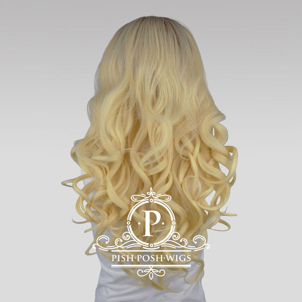 Stefeni Natural Blonde Ombre Lace Front Wig Back View