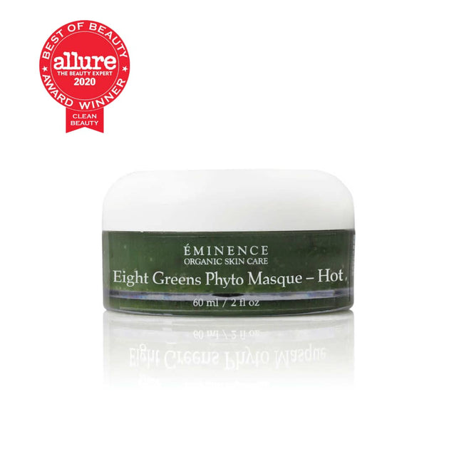 Eminence Organics Eight Greens Phyto Masque (Hot) - Allure Clean Beauty Award Winner 2020 | Thai-Me Spa