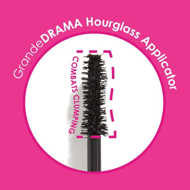 GrandeDRAMA Intense Thickening Mascara Hour-Glass Shaped Brush - Thai-Me Spa in Hot Springs, AR