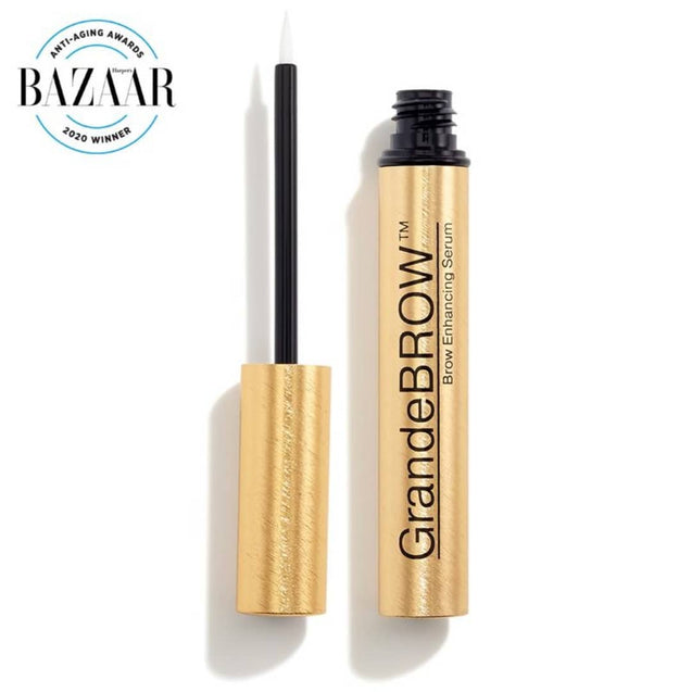 GrandeBROW Brow Enhancing Serum Winner of Bazaar Anti-Aging Awards 2020| Thai-Me Spa