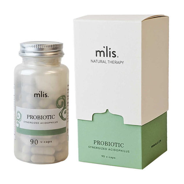 M'lis Probiotic Synergized Acidophilus 90 v-caps - Thai-Me Spa - Hot Springs, AR