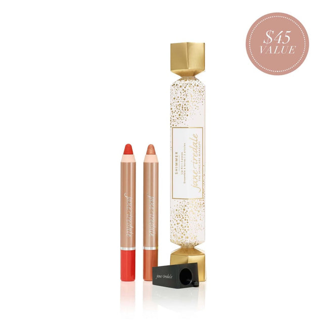 Jane Iredale Holiday Lip Kit - Shimmer | Available at Thai-Me Spa in Downtown Hot Springs, AR