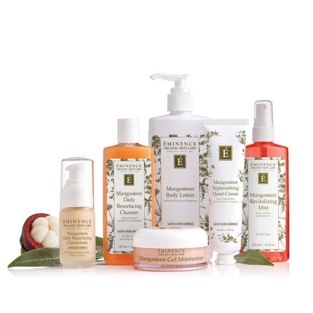 Eminence Organics Mangosteen Collection Group Image - Thai-Me Spa in Hot Springs, AR