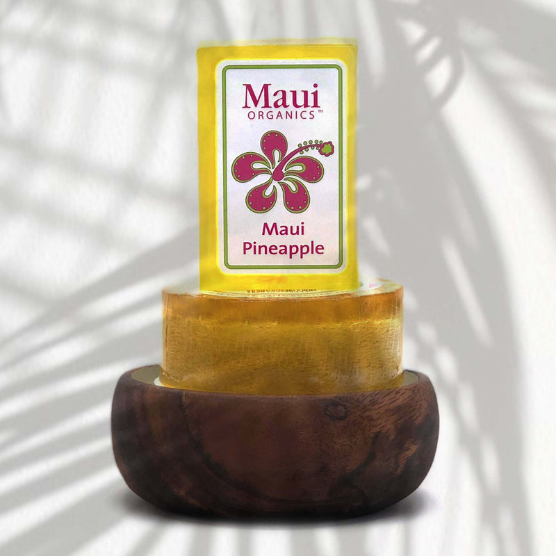 MAUI PINEAPPLE MONKEYPOD CANDLE COLLECTION