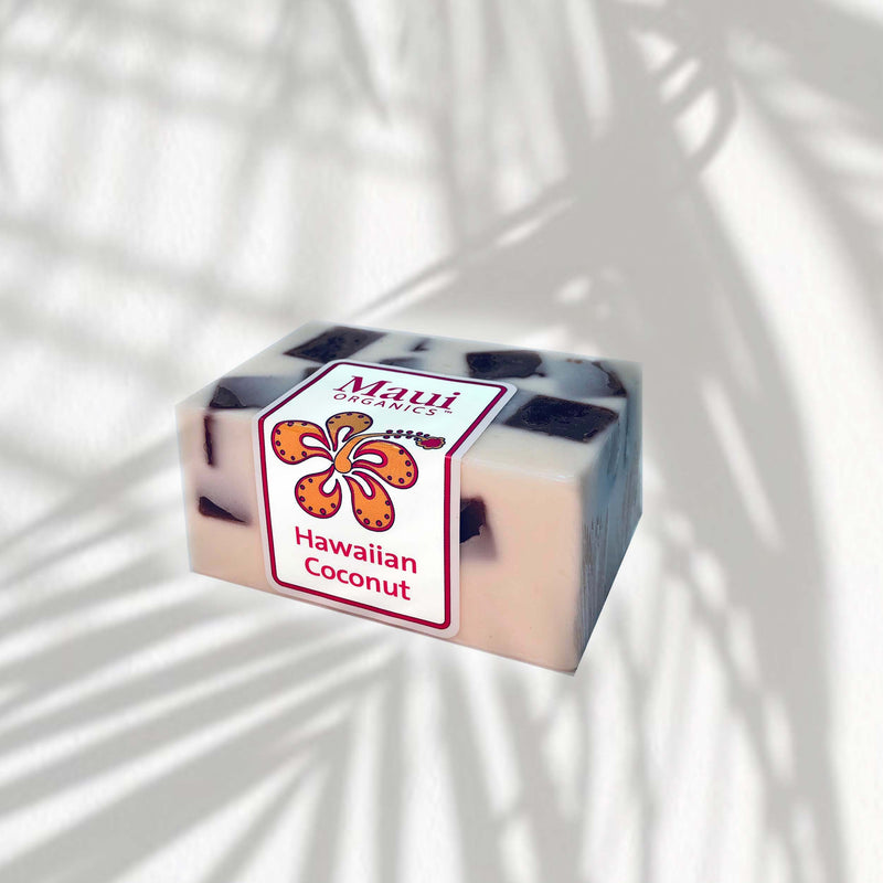 HAWAIIAN COCONUT CONFFETI SOAP