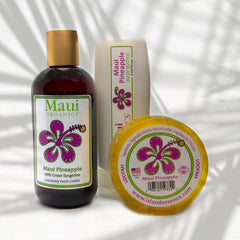 MAUI PINEAPPLE MAUI ORGANICS TRIO COLLECTION