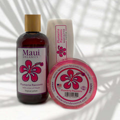 PLUMERIA MAUI ORGANICS TRIO COLLECTION