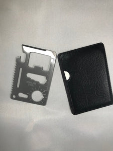 Survival Pocket Wallet tool