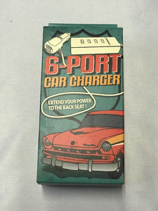 6 port Car Charger