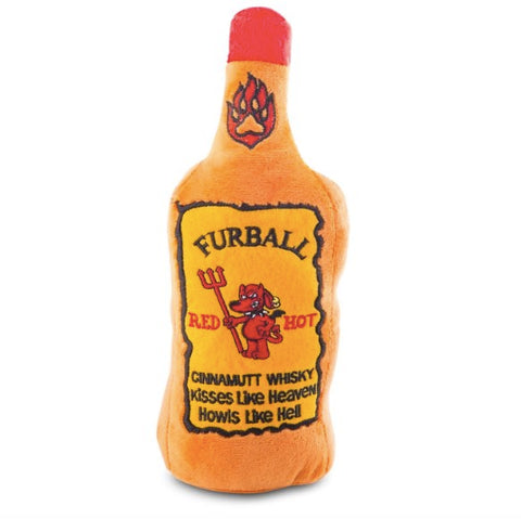 FURBALL CINNAMON WHISKY TOY