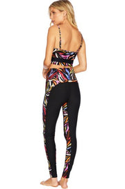 LOCO LEGGINGS- RAINBOW ZEBRA