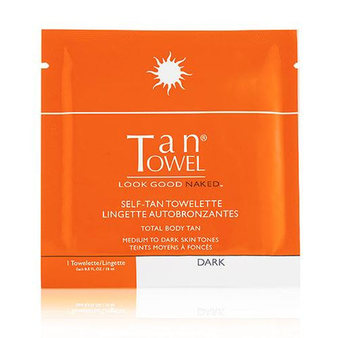 FULL BODY DARK TAN TOWELS