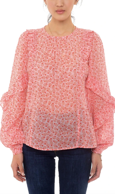 MARGOT BLOUSE- ORCHID PINK