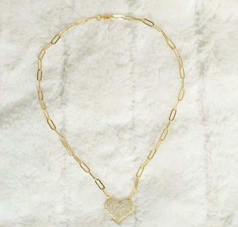 18K LITTLE LOVER NECKLACE - GOLD