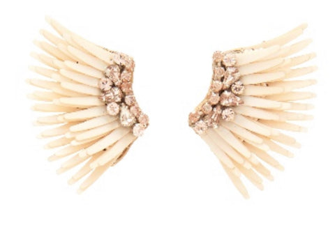 MINI MEGA MADELINE EARRING - NEUTRAL