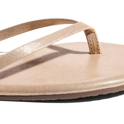 TKEES GLITTERS SANDALS- PINK PEARL