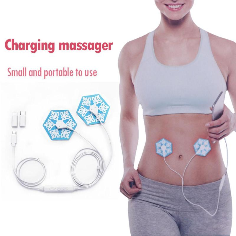 Portable Mini Massager Muscle Stimulator Relax Phone Connection Body Back Acupuncture Therapy Massager