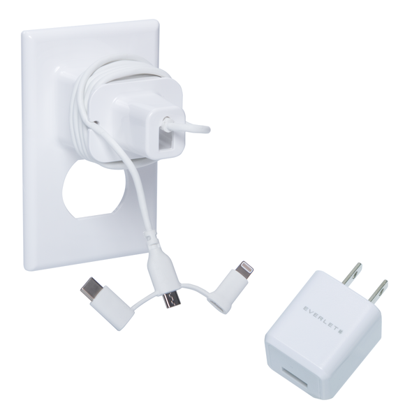 Everlet Wallplate with Fast Charging Cube Bundle