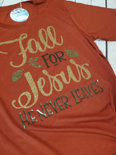Fall for Jesus Harvest Tee~Brick