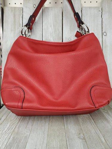 Grommet Slouchy Hobo bag ~Red #141