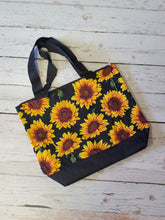 Sunflower Tote w/coin purse