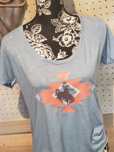 Prairie Dust ~Aztec on the Horizon~ Festival Scoop Neck tee