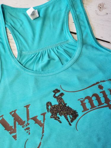 Flowy Tank ~Out West~ Turquoise