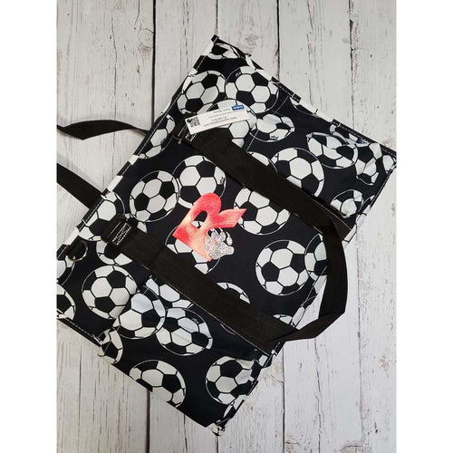Soccer Large Utility Tote  ~Plain or Decorated~ - My Wyo Designs