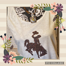 Steamboat ~Cocktail Cowboy~ Oatmeal Tank