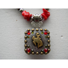 Bucking Horse & Rider Necklace #3 - My Wyo Designs