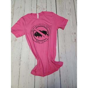 "Keepin"" the West Wild Pink Tee - My Wyo Designs"