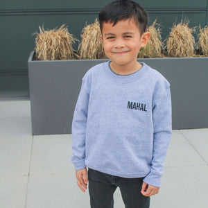 Gigil Mahal Love Crewneck - Kids - Gigil Clothing
