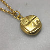 18ct Gold Lion Coin Necklace