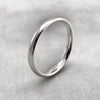 3.1mm Polished Silver Band