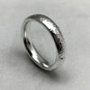 Reticulated 4mm Silver Ring