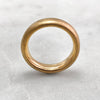 5.6mm Matt 18ct Gold Band
